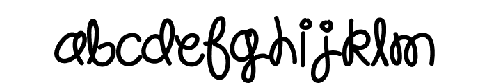 HelloPoolNoodle Font LOWERCASE