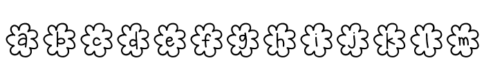 HelloPopcorn Font LOWERCASE