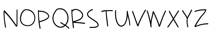 HelloRamona Font UPPERCASE