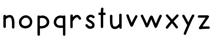 HelloRecess Font LOWERCASE