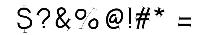 HelloRuhdonkulous Font OTHER CHARS
