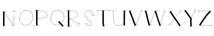 HelloRuhdonkulous Font UPPERCASE