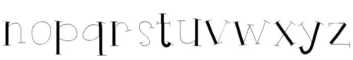 HelloRuhdonkulous Font LOWERCASE