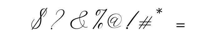 HelloSarrahScript Font OTHER CHARS