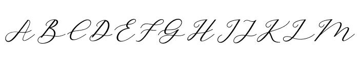 HelloSarrahScript Font UPPERCASE