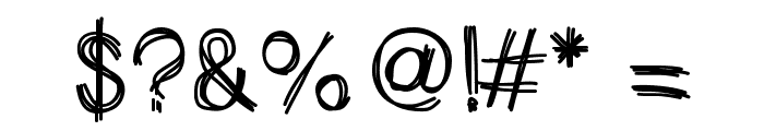 HelloScarecrow Font OTHER CHARS