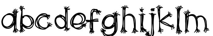 HelloScarecrow Font LOWERCASE
