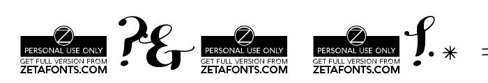 HelloScript Font OTHER CHARS