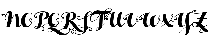HelloScriptTrial Font UPPERCASE