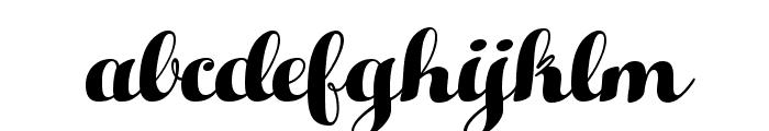 HelloScriptTrial Font LOWERCASE