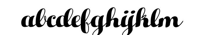 HelloScript Font LOWERCASE