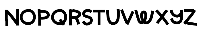 HelloStarbucks Font UPPERCASE