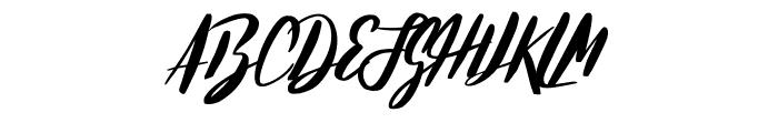 HelloStockholm-Regular Font UPPERCASE