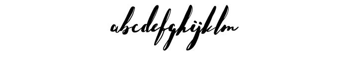 HelloStockholm-Regular Font LOWERCASE