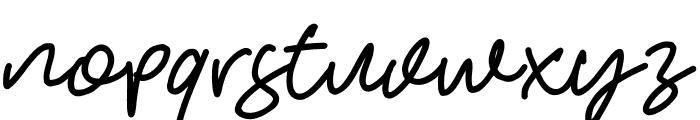 HelloStranger Font LOWERCASE