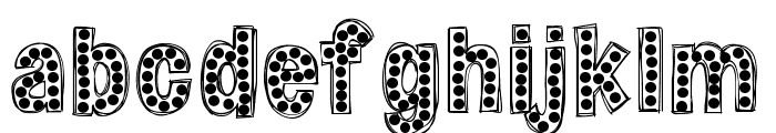 HelloZipper Font LOWERCASE