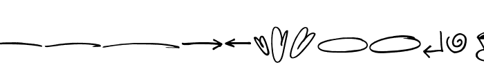 HellobelloSwash Font LOWERCASE