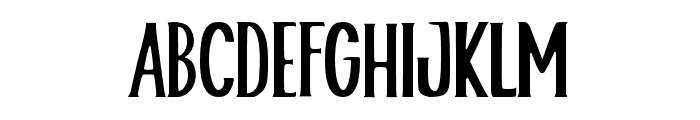 Helloria Font UPPERCASE