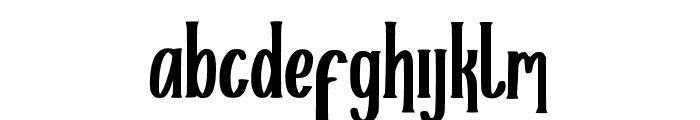 Helloria Font LOWERCASE