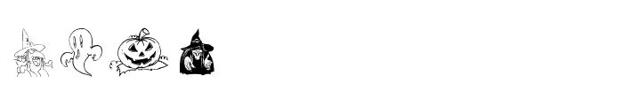 Helloween 2 Font UPPERCASE