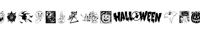 Helloween 2 Font LOWERCASE