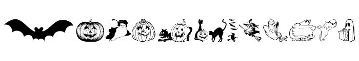 Helloween version 2 Font UPPERCASE