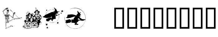 Helloween version 2 Font LOWERCASE