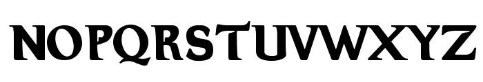 Hellraiser 3 Font UPPERCASE
