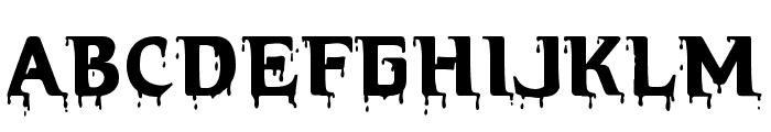 Hellraiser Bloody Font UPPERCASE