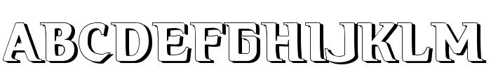 Hellraiser3 Shadow Font UPPERCASE
