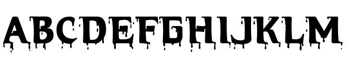 HellraiserBloody Font UPPERCASE