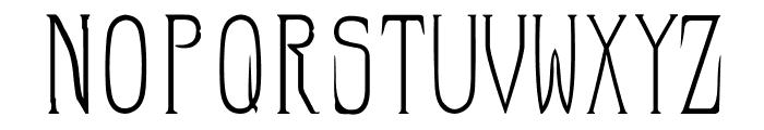 HellraiserSC Font LOWERCASE