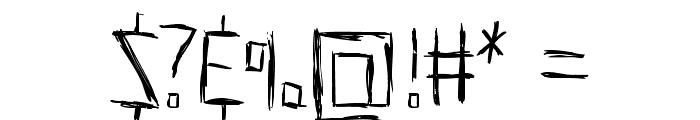 HellsKittchenDevilGod-Bold Font OTHER CHARS