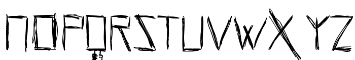 HellsKittchenDevilGod-Bold Font UPPERCASE