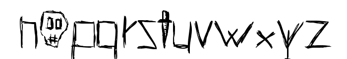 HellsKittchenDevilGod-Bold Font LOWERCASE