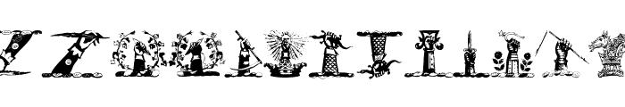 HelmbuschCrestSymbols Font LOWERCASE