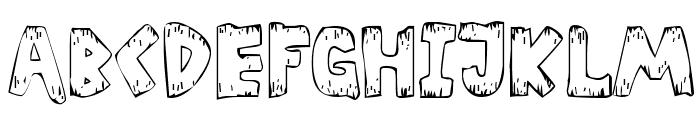 Helter Skater Normal Font UPPERCASE