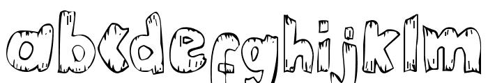 Helter Skater Normal Font LOWERCASE