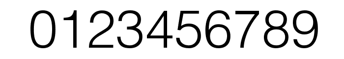 HelvLight Regular Font OTHER CHARS