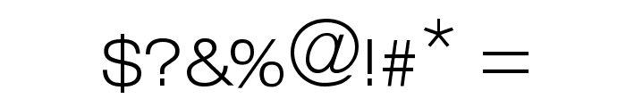 Helvelow Regular Font OTHER CHARS