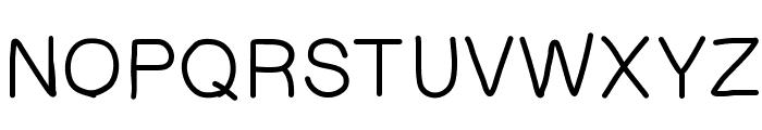 HelvetiHand Font UPPERCASE