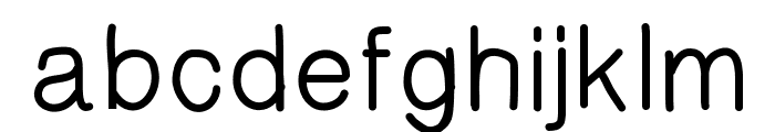 HelvetiHand Font LOWERCASE