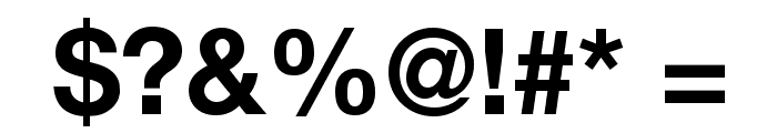 Helvetica Neue Bold Font OTHER CHARS