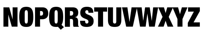 Helvetica Neue Condensed Black Font UPPERCASE