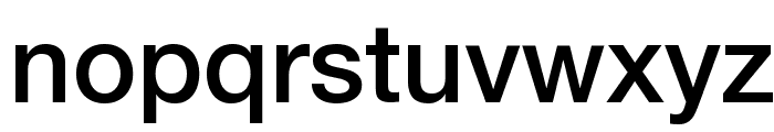 Helvetica Neue Medium Font LOWERCASE