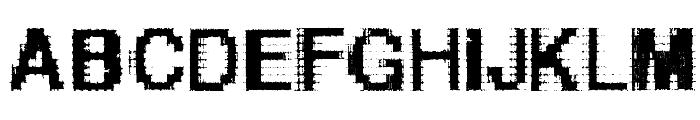 Helvetica-grosse-bit Font LOWERCASE