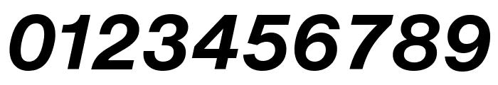 HelveticaNowText-BoldItalic Font OTHER CHARS