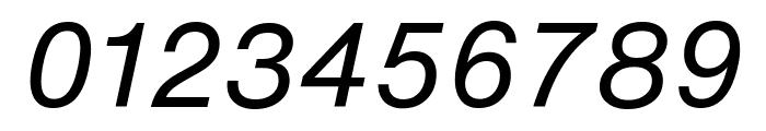 HelveticaNowText-RegIta Font OTHER CHARS