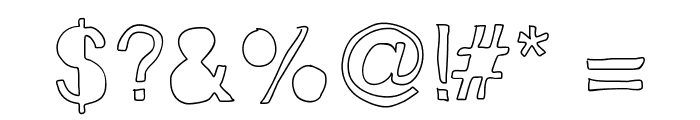 Helveticamazing Font OTHER CHARS