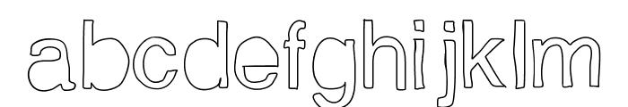 Helveticamazing Font LOWERCASE